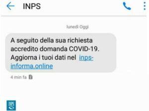 Phishing INPS Covid